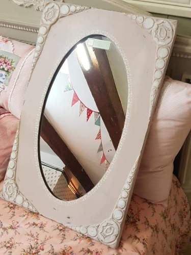 Baby pink mirror